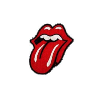 THE ROLLING STONES Tongue Logo, パッチ