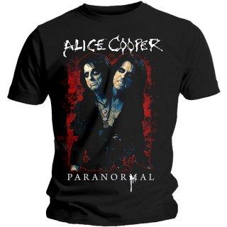 ALICE COOPER Paranormal Splatter, Tシャツ