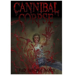 CANNIBAL CORPSE Red Before Black, 布製ポスター