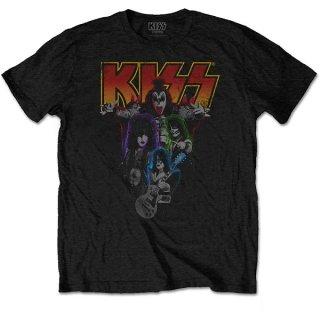 KISS Neon Band 2, Tシャツ