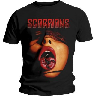 SCORPIONS Scorpion Tongue, Tシャツ