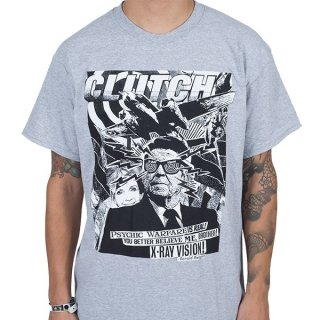 CLUTCH Uncle Ronnie Grey, Tシャツ