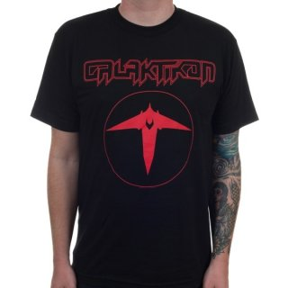GALAKTIKON Icarus Red on Black, Tシャツ