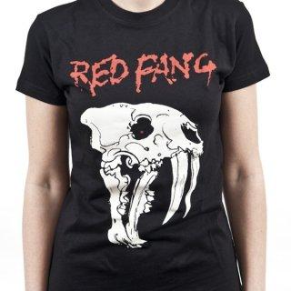 RED FANG Fang, レディースTシャツ
