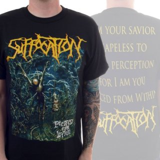 SUFFOCATION Pierced From Within/In, Tシャツ