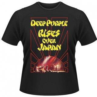 DEEP PURPLE Rises Over Japan, Tシャツ