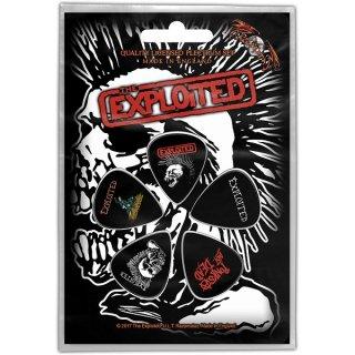 THE EXPLOITED Skull, ギターピック(5枚セット)