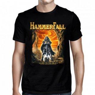 HAMMERFALL Glory To The Brave Black, Tシャツ