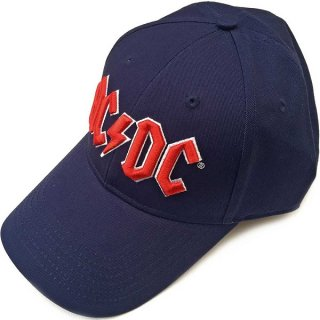 AC/DC Red Logo (Navy Blue), キャップ
