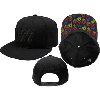 KISS Neon Faces (Snap Back), キャップ