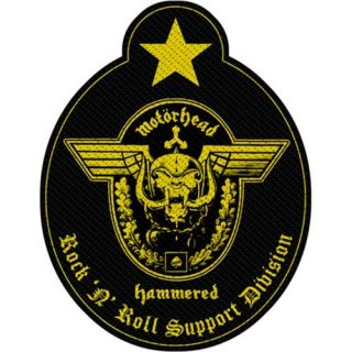 MOTORHEAD Support Division Cut-Out, パッチ