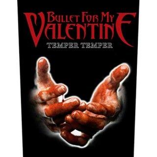 BULLET FOR MY VALENTINE Temper Temper, バックパッチ