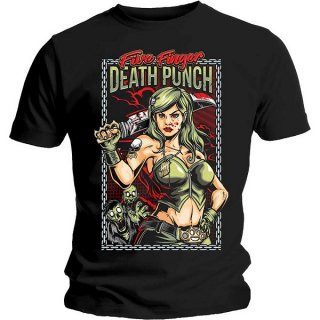 FIVE FINGER DEATH PUNCH Assassin, Tシャツ