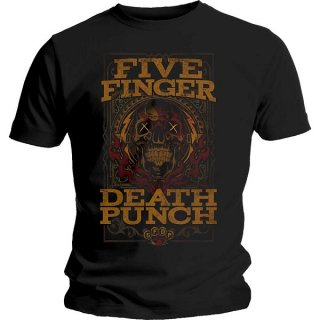 FIVE FINGER DEATH PUNCH Wanted, Tシャツ