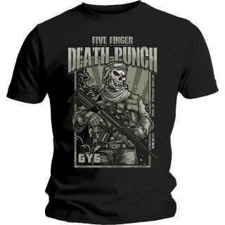 FIVE FINGER DEATH PUNCH War Soldier, Tシャツ