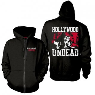 HOLLYWOOD UNDEAD Dirty V, Zip-Upパーカー