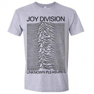 JOY DIVISION Unknown Pleasures (Grey), Tシャツ