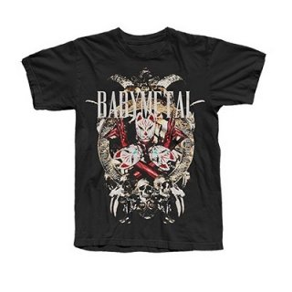 BABYMETAL Fox Mask, Tシャツ