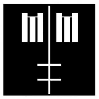 MARILYN MANSON Cross Logo, バンダナ