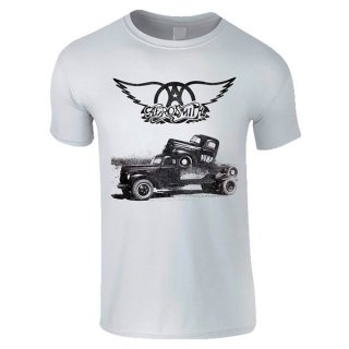 AEROSMITH Pump White, Tシャツ