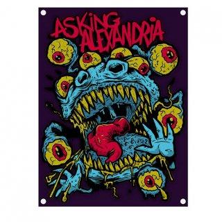 ASKING ALEXANDRIA Eyeballs, 布製ポスター