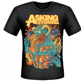 ASKING ALEXANDRIA Monster, Tシャツ