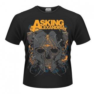 ASKING ALEXANDRIA Skull, Tシャツ