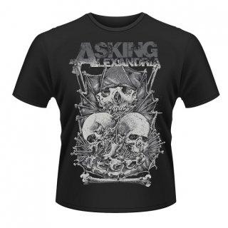 ASKING ALEXANDRIA Skull Stack 2, Tシャツ