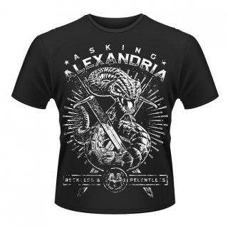 ASKING ALEXANDRIA Snake, Tシャツ