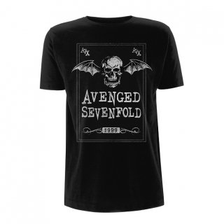AVENGED SEVENFOLD Face Card, Tシャツ