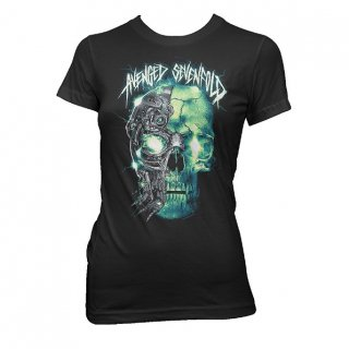 AVENGED SEVENFOLD Turbo Skull, レディースTシャツ