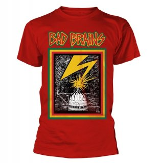 BAD BRAINS Bad Brains (red), Tシャツ