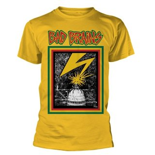 BAD BRAINS Bad Brains (yellow), Tシャツ