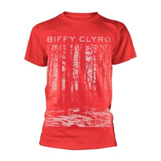 BIFFY CLYRO Red Tree, Tシャツ
