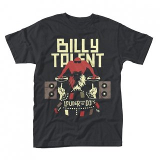 BILLY TALENT Louder Than The Dj, Tシャツ