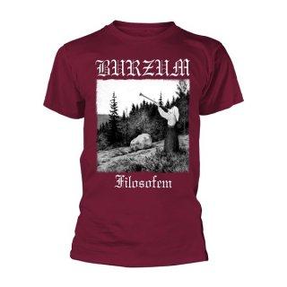 BURZUM Filosofem 2018 (maroon), Tシャツ
