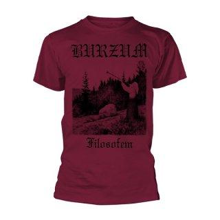 BURZUM Filosofem 3 (maroon), Tシャツ