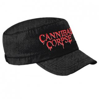 CANNIBAL CORPSE Logo Army Cap, キャップ