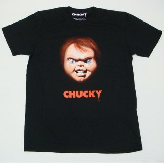 CHILD'S PLAY Chucky Face, Tシャツ
