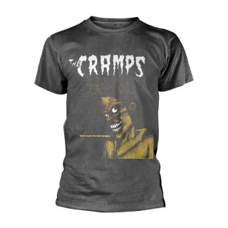 THE CRAMPS Bad Music For Bad People (vintage Wash), Tシャツ