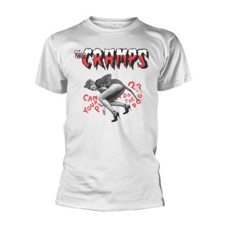 THE CRAMPS Do The Dog (white), Tシャツ