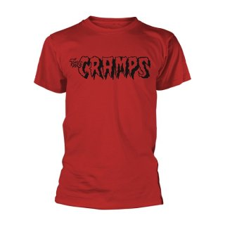 THE CRAMPS Logo (red), Tシャツ
