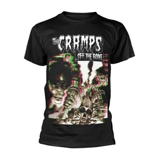THE CRAMPS Off The Bone (black), Tシャツ