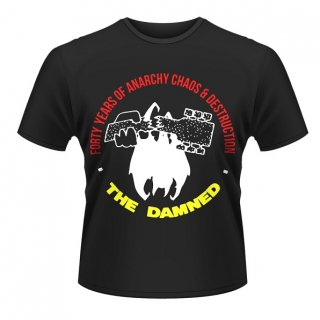 THE DAMNED Forty Years Of Anarchy, Tシャツ