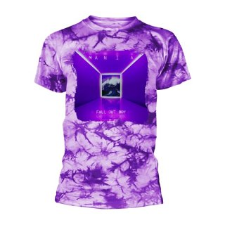 FALL OUT BOY Mania Tie-dye, Tシャツ