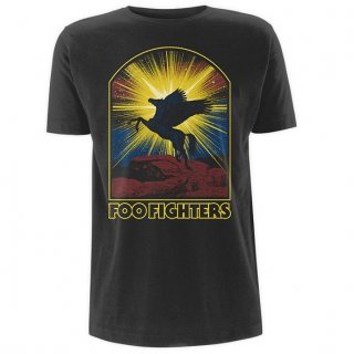 FOO FIGHTERS Winged Horse, Tシャツ