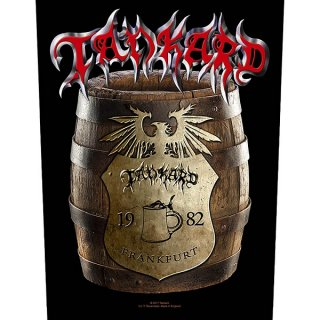 TANKARD Beer Barrel, バックパッチ