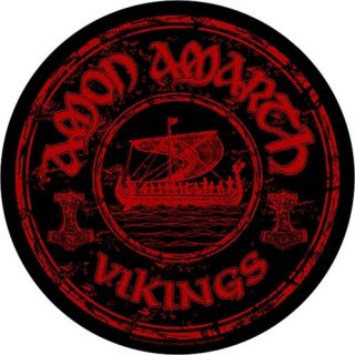 AMON AMARTH Vikings Circular, バックパッチ