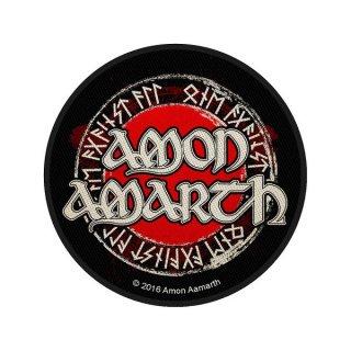 AMON AMARTH Logo Circular, パッチ
