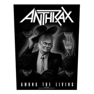 ANTHRAX Among The Living, バックパッチ
